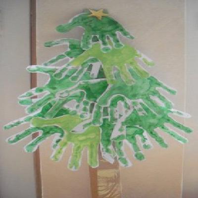 Bevorzugt Fiches activités manuelles décoration 'Sapin de Noël très  ZI81