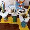 activité enfant pot à crayons