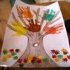 activité enfant arbre a mains