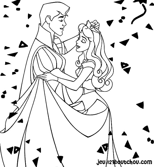 Princesse et coloriage nouvel an princesse - Jeux de coloriage de princesses disney ...