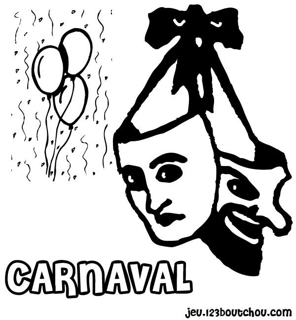 Dessin Masque Carnaval D Or Pour Enfants A Imprimer Gratuitement