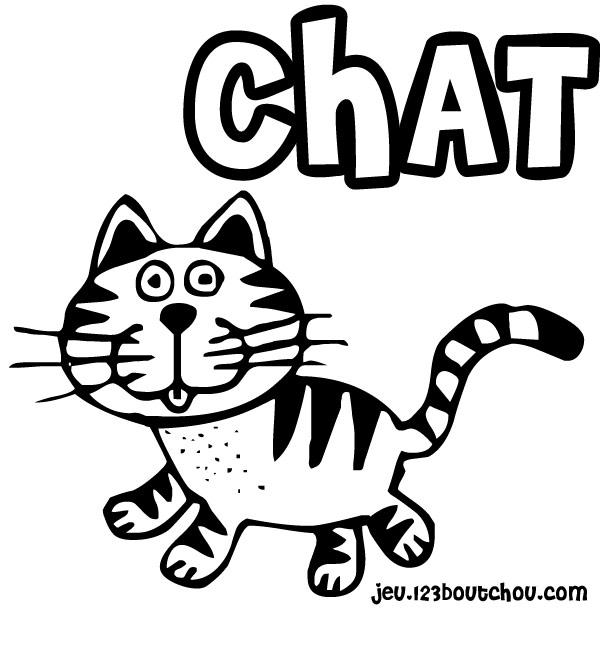 Chat dessin - Dessin de chat ...