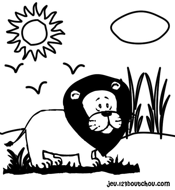 Maman papa expliquez moi ce joli coloriage d 39 enfant - Image le lion et le rat ...