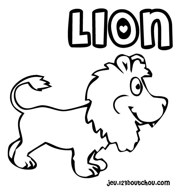 Lion King Pour Enfants à Imprimer Gratuitement