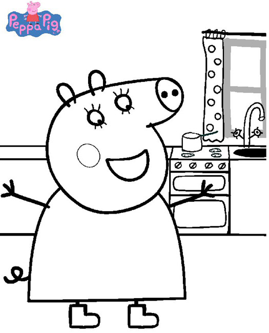 Peppa cochon - Coloriages peppa pig ...