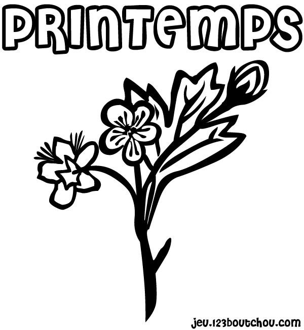 Coloriage Fleur Printemps A Imprimer.Coloriage Fleur Simple Geant Pour Enfants A Imprimer Gratuitement