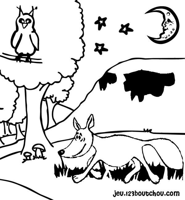Corbeau Et Renard Pour Enfants A Imprimer Gratuitement Assistante Maternelle Biz