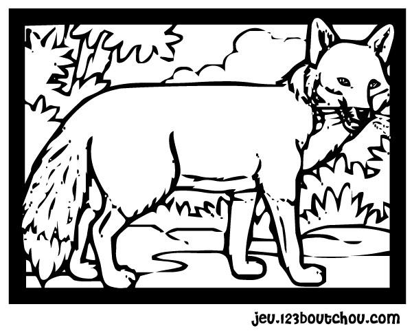 Coloriage naruto - Coloriage renard ...