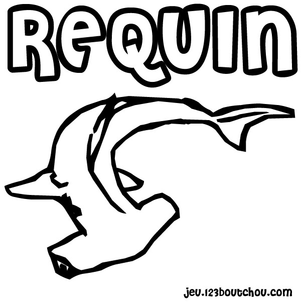 Coloriage bebe requin www - Requin a imprimer ...