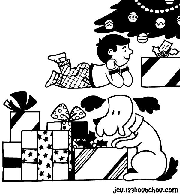 Paysage De Noel A Imprimer.Une Bébé Dans Le Paysage De Noël Pour Enfants à Imprimer