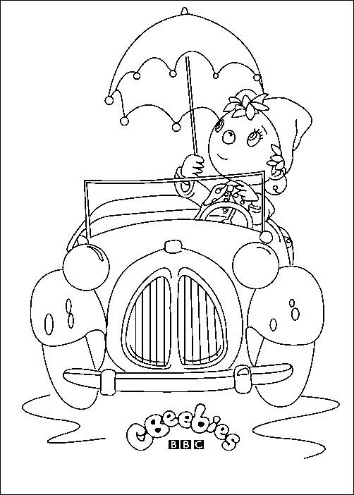 Coloriage Enfant Oui Oui Pour Enfants A Imprimer Gratuitement