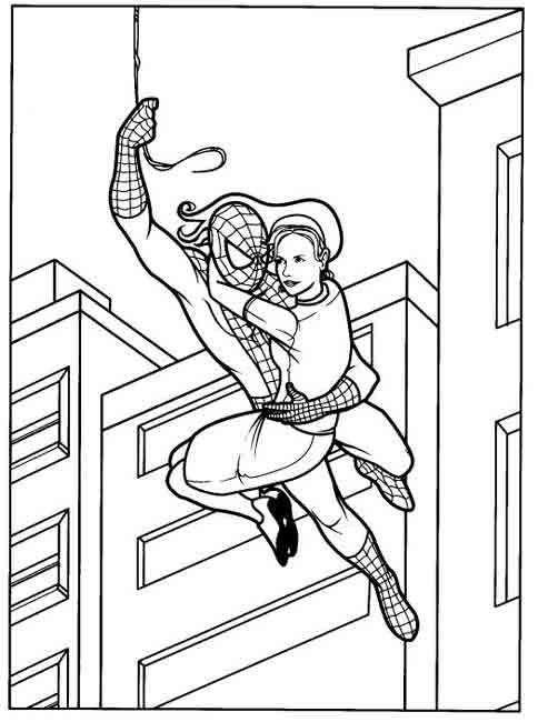 Coloriage Spider Man Pour Enfants A Imprimer Gratuitement Assistante Maternelle Biz