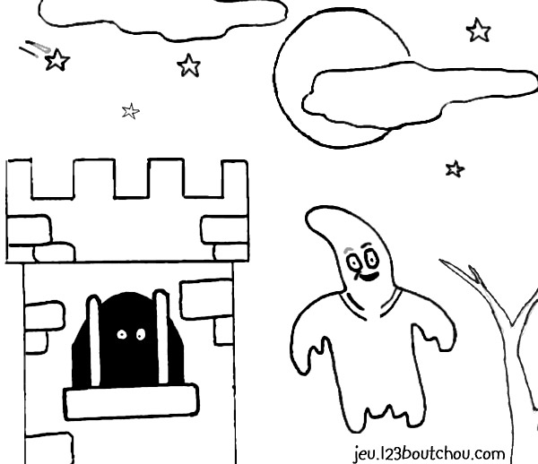 Coloriage halloween casper le fant me - Coloriage halloween fantome ...