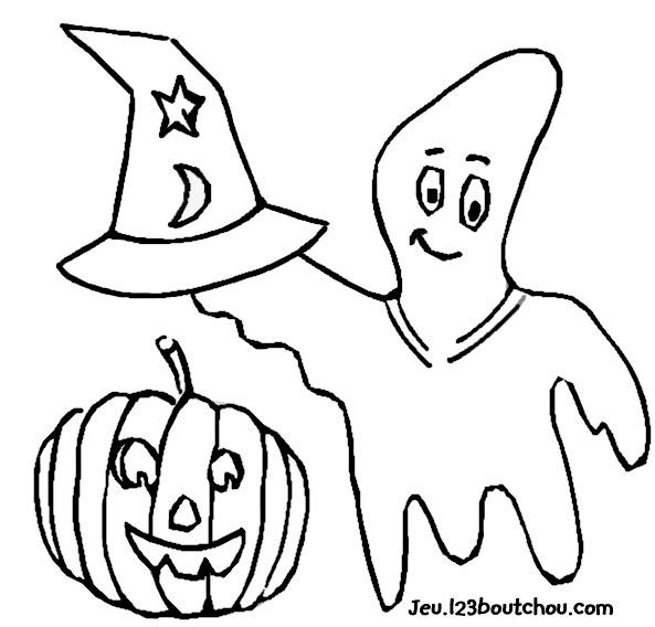 Super Coloriage halloween: coloriage 2 ans pour enfants à imprimer  IH84