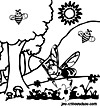 Les Abeilles des ruches s