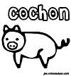 coloriage enfant 3 petits cochons