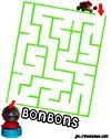 labyrinthe enfant parc labyrinthe de bonbons