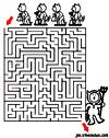 labyrinthe enfant labyrinthe jardin de halloween du Pharaon