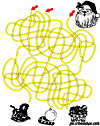 labyrinthe enfant Papyrus et labyrinthe geant de noel