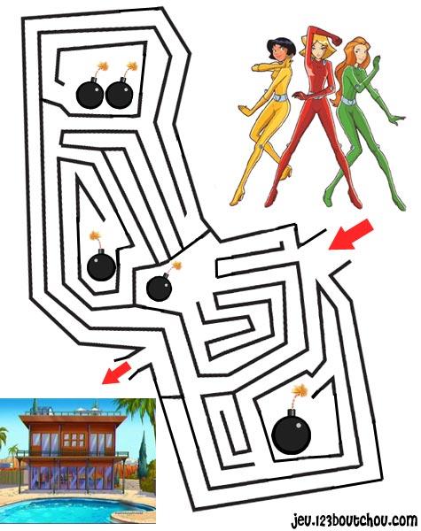 Labyrinthe club de heros des dragons - Jeux labyrinthe a imprimer ...