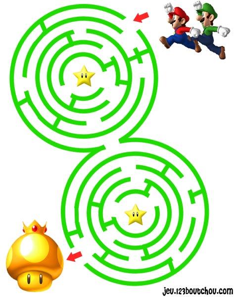 Labyrinthe jardin de heros et le fil d 39 ariane - Jeu labyrinthe a imprimer ...