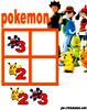 sudoku enfant Grille sudoku Simple pokemon n° 4