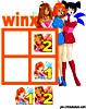 sudoku enfant Grille sudoku Simple winx n° 1