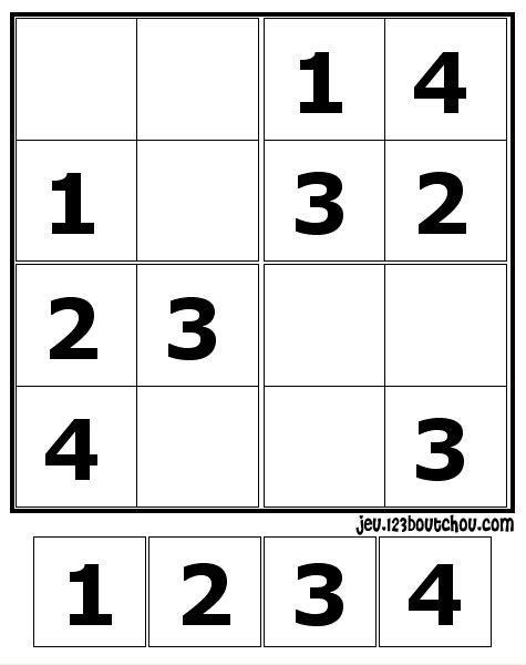 Sudoku a imprimer 6 grilles par page sudoku imprimer le sudoku du jour sudolettre sudoku pour - Grilles sudoku gratuites ...